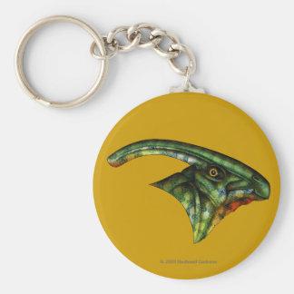 Porte - clé rond de Hadrosaur Porte-clé Rond