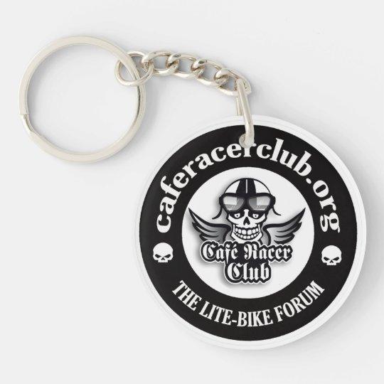 Porte-clé Single-Sided Round Acrylic Keychain