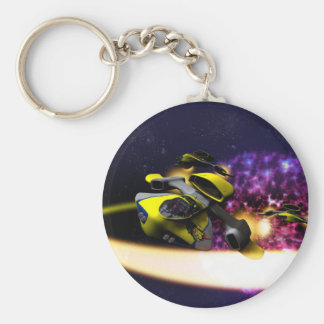 Porte - clé stellaire de dérive porte-clé rond
