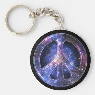 Porte - clé universel de paix porte-clé rond