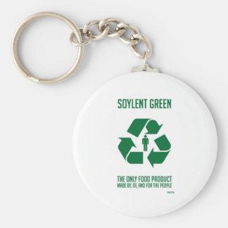 Porte - clé vert de Soylent Porte-clé Rond