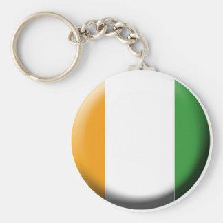 Porte- clef Côte d'ivoire Keychain