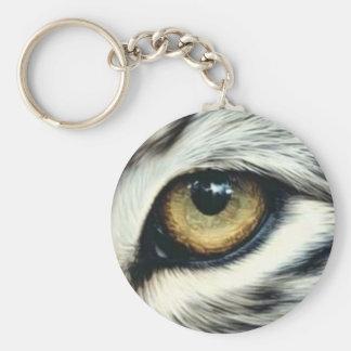 porte-clés 5,7 cm oeil d'animal
