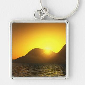 Porte-clés de prime de lac sunset