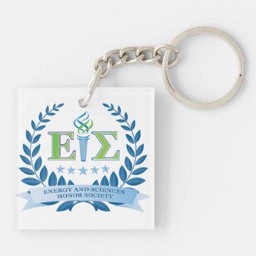Porte - clés de société d'énergie et d'honneur des porte-clé