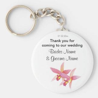 Porte-clés Dons de souvenirs de souvenirs de mariage