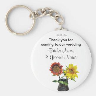 Porte-clés Dons de souvenirs de souvenirs de mariage de