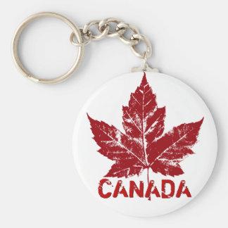 Porte - clés du Canada de cool de porte - clé de Porte-clé Rond