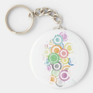 Porte-clés full of circles. Colorful and cool gift
