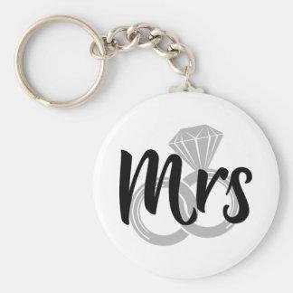 Porte-clés Mme Wedding Bride Just marié
