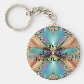 Porte-clés Notre porte - clé mou de couleurs de jour du