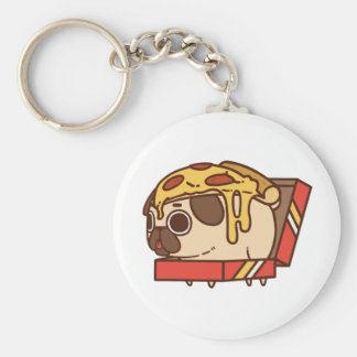 Porte-clés Pizza Pug-01