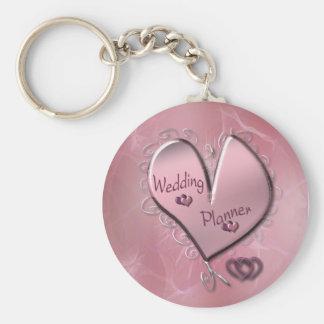 Porte-clés Porte - clé rose de wedding planner