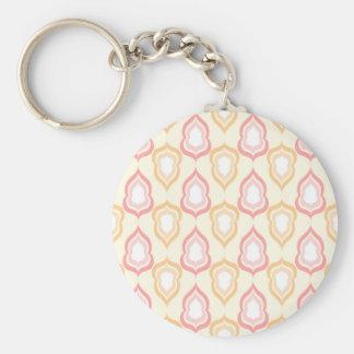 Porte-clés Seamless damask pattern