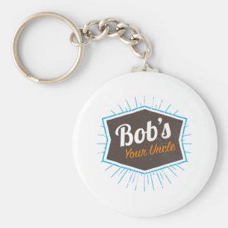 Porte-clés Votre plaisanterie d'oncle Funny Man Named Bob de