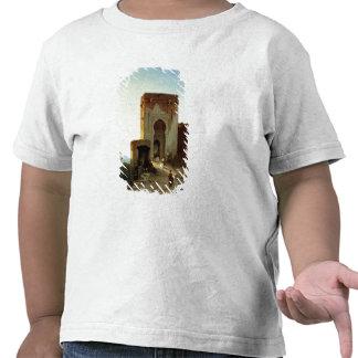 Porte de Justice, Alhambra, Grenade (huile sur la T-shirts
