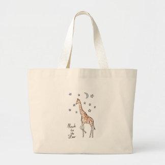 portée de girafe pour l'étoile grand tote bag