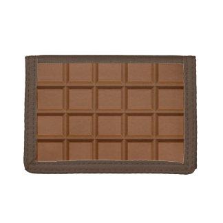 """Portefeuilles """"de barre de chocolat"""""""