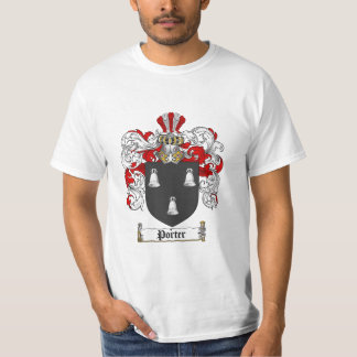 Porter Family Crest - Porter Coat of Arms T-Shirt