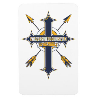 Portersville Christian School Archery Team Locker Magnet