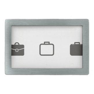 Portfolio an icon rectangular belt buckle