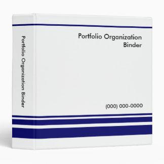 """Portfolio Organization Binder 1.5"""" - Custom Logo"""