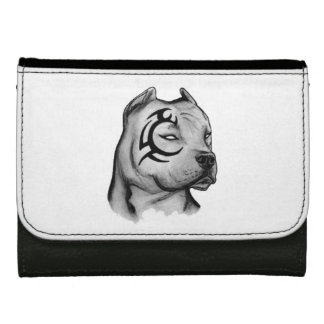portfolio pitbull leather wallet for women