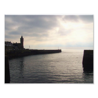Porthleven Cornwall England Harbour Wall Photo