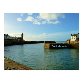 Porthleven Cornwall England Harbour Wall Postcard