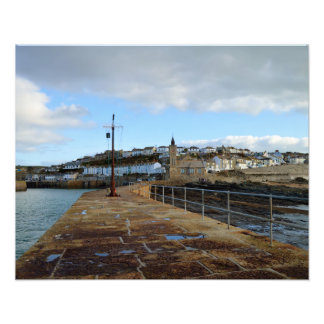 Porthleven Cornwall England in Winter Photo Art