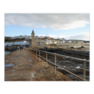 Porthleven Cornwall England in Winter Photo