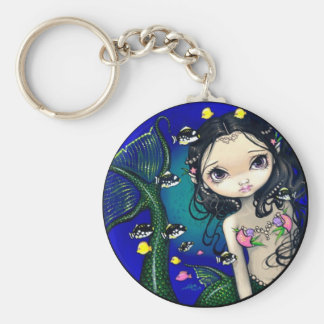 """""""Porthole Mermaid"""" Keychain"""