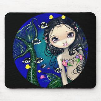 """Porthole Mermaid"" Mousepad"