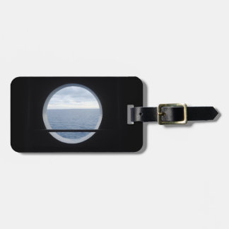 Porthole View LT1P Personalized Luggage Tag