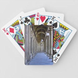 Portico of the Sultan Ali mosque in Cairo Poker Deck