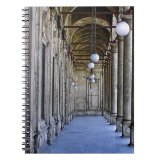 Portico of the Sultan Ali mosque in Cairo Spiral Notebook