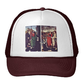 Portinari-Altar Left Wing: The St. Anthony With To Mesh Hat