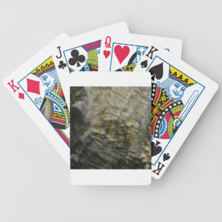 portion of the rock in stone bicycle playing cards