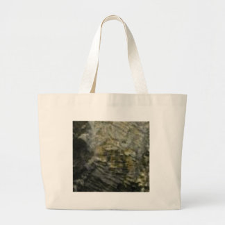 portion of the rock in stone large tote bag