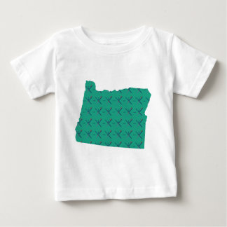 Portland Airport carpet Oregon map Baby T-Shirt
