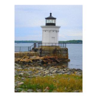 Portland Breakwater Lighthouse Letterhead