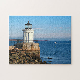 Portland Breakwater Lighthouse, Maine Jigsaw Puzzle