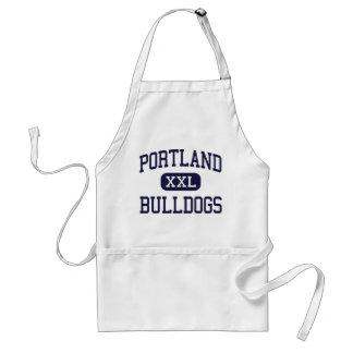 Portland - Bulldogs - High School - Portland Maine Standard Apron