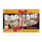 Portland: City of Roses Postcard