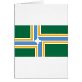 Portland Flag Card