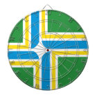 Portland flag dartboard