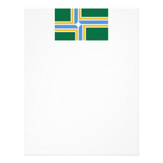 Portland Flag Letterhead