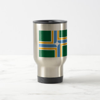 Portland Flag Travel Mug
