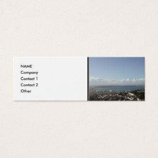 Portland Harbour. Dorset, UK. Mini Business Card