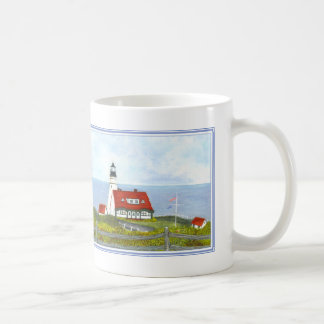 "Portland Head light ""A View From The Hill"" MUG #9"